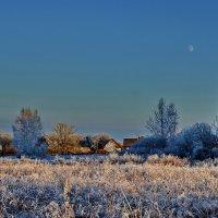 Луна  и  солнце...... :: Валера39 Василевский.