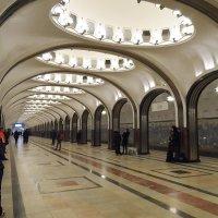 Маяковская (станция метро, Москва) :: Галина