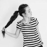 Striped t-shirt :: Мария Буданова