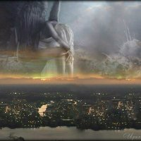 Ангелы плачут над грешной землёй... :: Ирина я