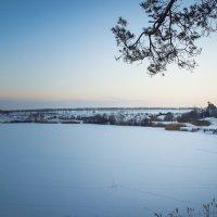 зимний вечер :: Lina Dunenbaeva