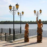 Скульптуры на набережной :: Damir Si