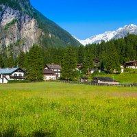 Лето в Альпах :: Андрей Жуков