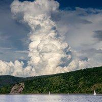 Облако. :: Поток
