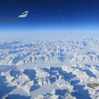 Под крылом самолета - Гренландия :: Василий С