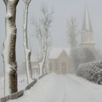 Храм утопающий в тумане... :: Aleksandrs Rosnis