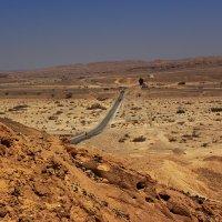 дорога через пустыню :: evgeni vaizer
