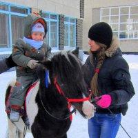 Мальчик на пони . :: Мила Бовкун