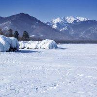 Лед и горы :: Анатолий Иргл