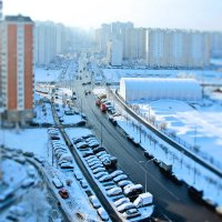 Из окна улица видна :: Василий Аникеев