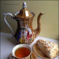 Чай с тортиком. :: Anna Gornostayeva
