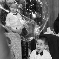 Мыльные пузыри на дне рождения :: Ruslan Shayakhmetov