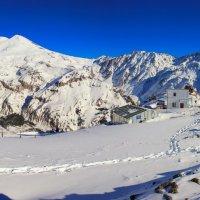 Вид на Эльбрус с Чегета. :: Олег Петрушин