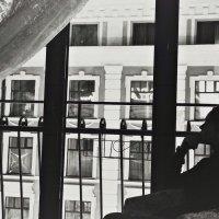 Отель Европа г.Казань , вид из окна :: Анна Судьярова