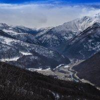 Архыз с горы пастухов :: Алексей Бойко