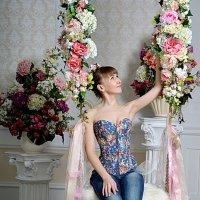 Цветочные качели :: Ната Коротченко
