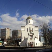 Преображенская церковь в Подмосковном городе Люберцы :: Ольга Кривых