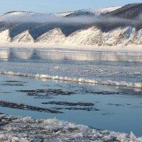 Ледостав на реке Лена :: Александр Велигура