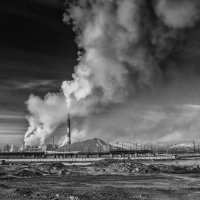 smoke from the chimneys :: Dmitry Ozersky