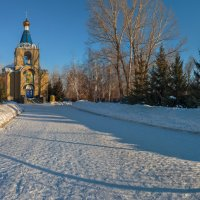 Храм Покрова Пресвятой Богородицы г. Кувандык :: Александр Кислицын