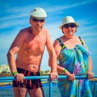 Мои бабушка с дедушкой :: Юлия ))))
