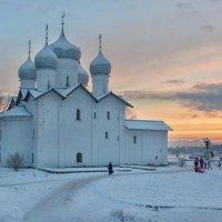 Зимний вечер :: Евгений Никифоров