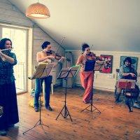 Флейта,скрипка,альт и виолончель. :: Наталья Ломоносова