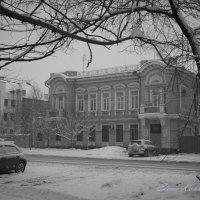 Зимний пейзаж в городе :: К Елена