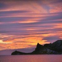 Розовый закат. :: ОЛЕГ ПАНКОВ