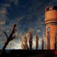 Башня, облака, крыши :: Николай Семёнов