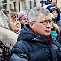 На мітингу :: Степан Карачко