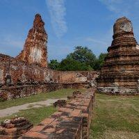 Аюттайя - древняя столица Сиама. XII в. :: Rafael