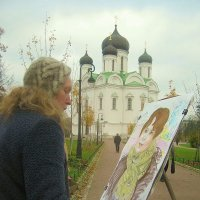 Осенний пленэр...... :: Tatiana Markova