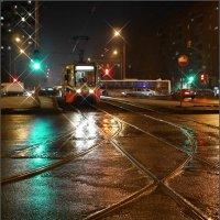 Март... дождливый вечер :: Наталья Rosenwasser