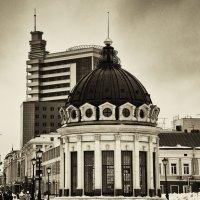 Казань гранд отель-вид с площади двух фонтанов. :: александр мак mak