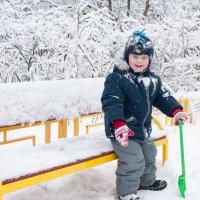 снежный человек :: Екатерина Куликова