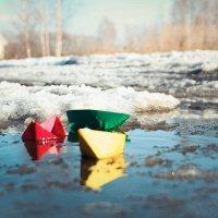 весенние кораблики :: Олька Никулочкина