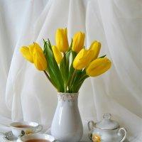 Желтые тюльпаны :: Larisa Simonenkova
