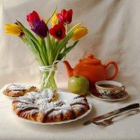 Яблочный пирог. :: Снежанна Родионова