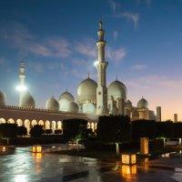 Мечеть шейха Заеда, Абу-Даби :: Николай Сигаев