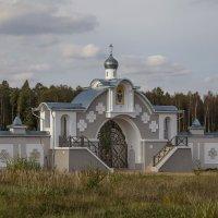 Иоанно-Богословский Савво-Крыпецкий монастырь. Святые ворота :: Алексей Шаповалов Стерх