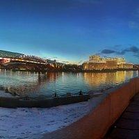 Москва река :: Борис Соловьев