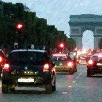 Ночной Париж 2 :: Юрий Медведев