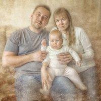Мама Оля, Дима и Ариша :: Rasslik Hamitova