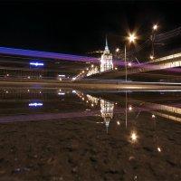 Ночная Москва...или динамика города :: Елена Шторм