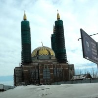 Строительсво соборной мечети Салавата Юлаева :: Владимир Ростовский