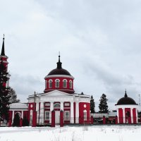 Ахтырская церковь.Хотьково. :: vkosin2012 Косинова Валентина