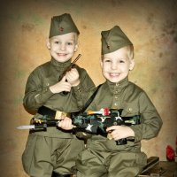 Два брата-солдата :: Katrin Anchutina