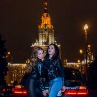 Огни Москвы :: Алекcандр Комлев
