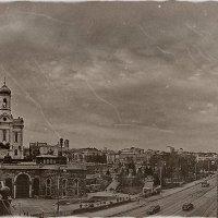 Москва река и Кремль (прошлый век) :: Борис Соловьев